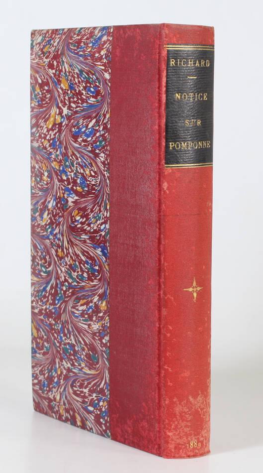 [Brie] RICHARD Notice sur Pomponne-lès-Lagny (Seine et Marne) - 1889 - Photo 0, livre rare du XIXe siècle