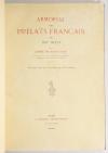 SAINT-SAUD - Armorial des prélats français du XIXe - 1906-1908 + Additions - Photo 1, livre rare du XXe siècle