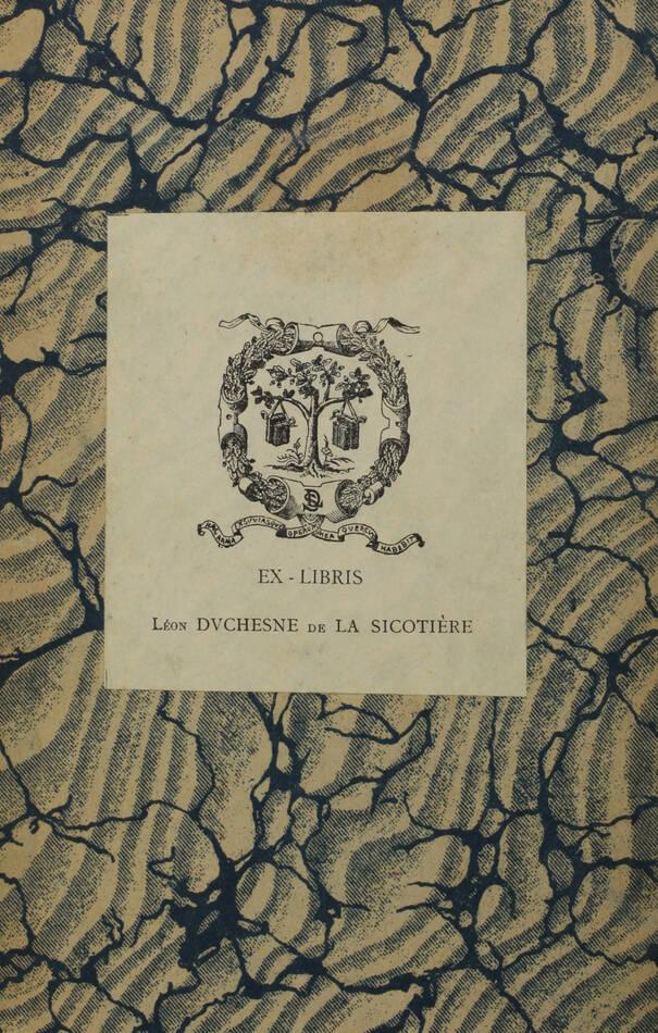 Du CHAMBGE de L. - Offices et officiers du bureau des finances de Lille - 1855 - Photo 0, livre rare du XIXe siècle