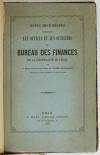 Du CHAMBGE de L. - Offices et officiers du bureau des finances de Lille - 1855 - Photo 2, livre rare du XIXe siècle