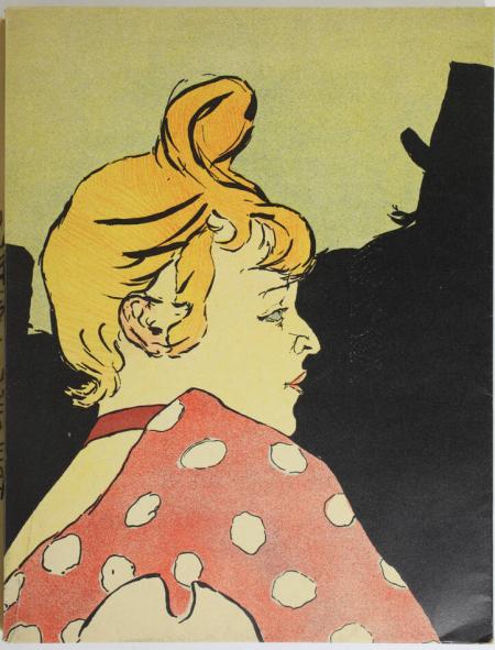 JULIEN (Edouard). Les affiches de Toulouse-Lautrec, livre rare du XXe siècle