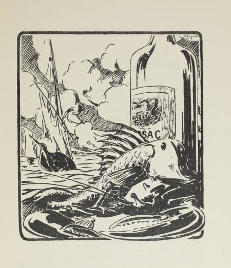 RIBAUD (Roger). Le maître de maison de sa cave à sa table, livre rare du XXe siècle