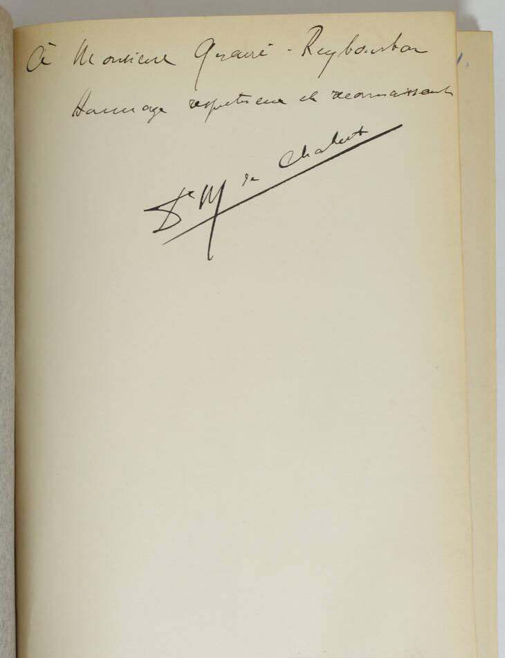 CHABERT - Le corps médical dans le Nord depuis 1789 - 1904 - Envoi - Photo 0, livre rare du XXe siècle