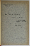 CHABERT - Le corps médical dans le Nord depuis 1789 - 1904 - Envoi - Photo 2, livre rare du XXe siècle