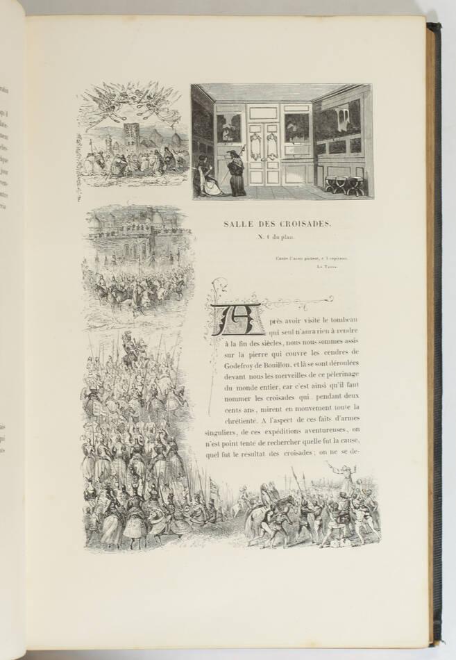 Cte de LABORDE - Versailles ancien et moderne - 1841 - Cartonnage signé Lenègre - Photo 5, livre rare du XIXe siècle
