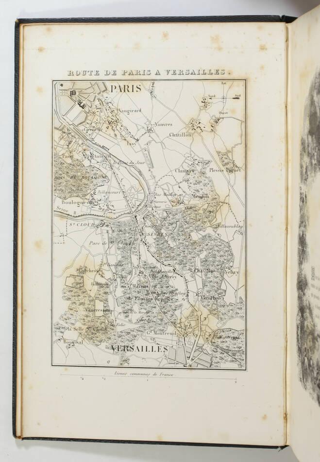 Cte de LABORDE - Versailles ancien et moderne - 1841 - Cartonnage signé Lenègre - Photo 6, livre rare du XIXe siècle