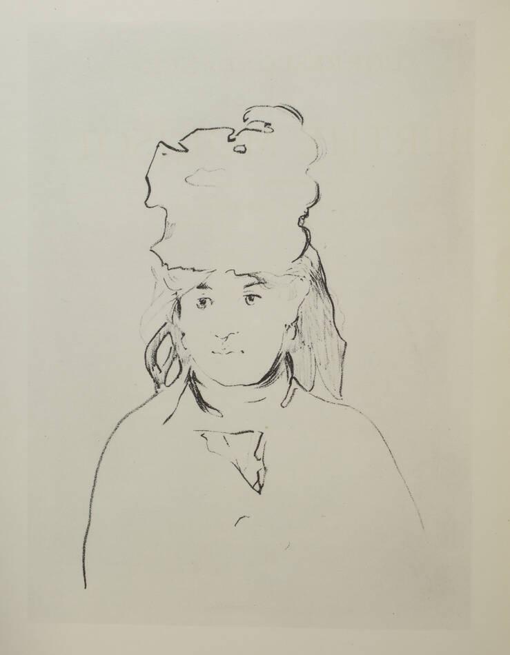 Correspondance de Berthe Morisot avec sa famille et ses amis - 1950 - Rouart - Photo 0, livre rare du XXe siècle