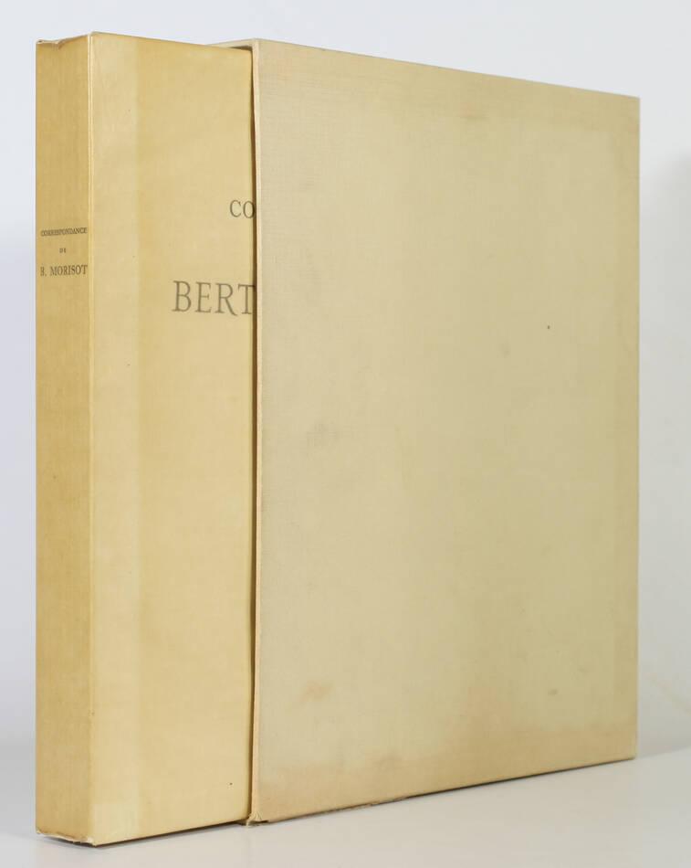 Correspondance de Berthe Morisot avec sa famille et ses amis - 1950 - Rouart - Photo 1, livre rare du XXe siècle