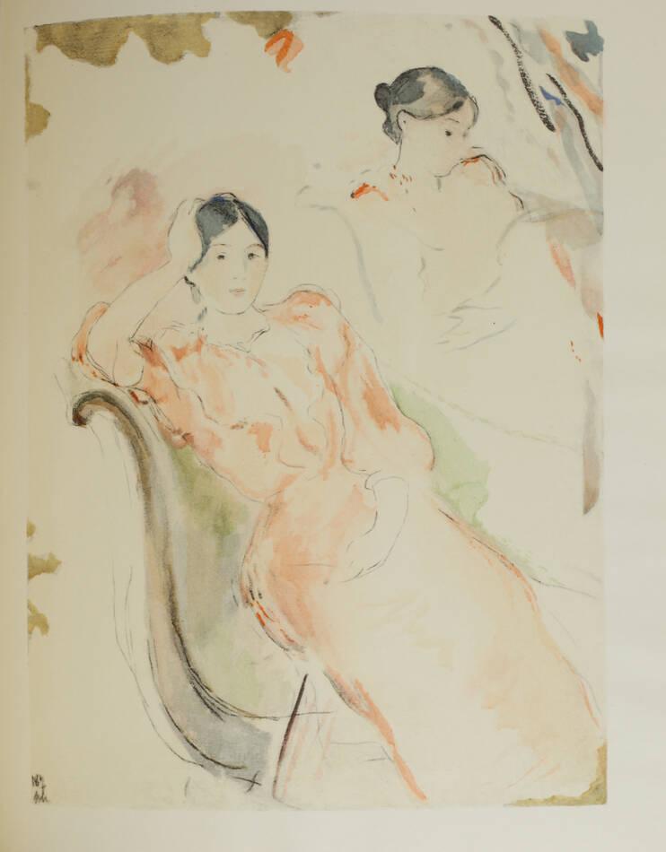 Correspondance de Berthe Morisot avec sa famille et ses amis - 1950 - Rouart - Photo 2, livre rare du XXe siècle