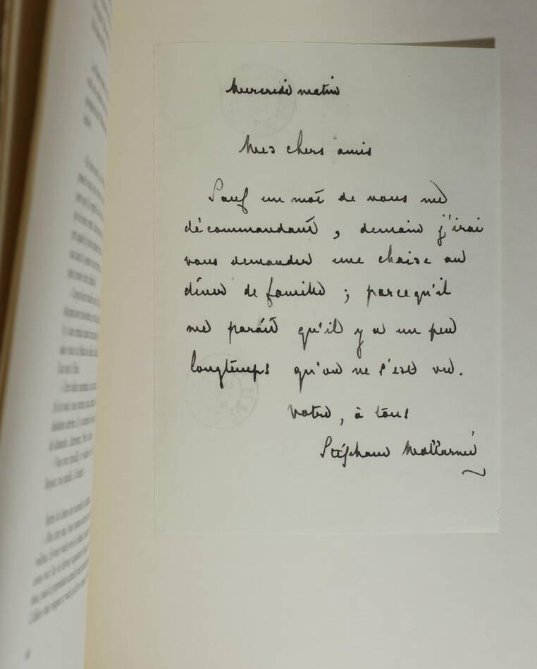 Correspondance de Berthe Morisot avec sa famille et ses amis - 1950 - Rouart - Photo 3, livre rare du XXe siècle