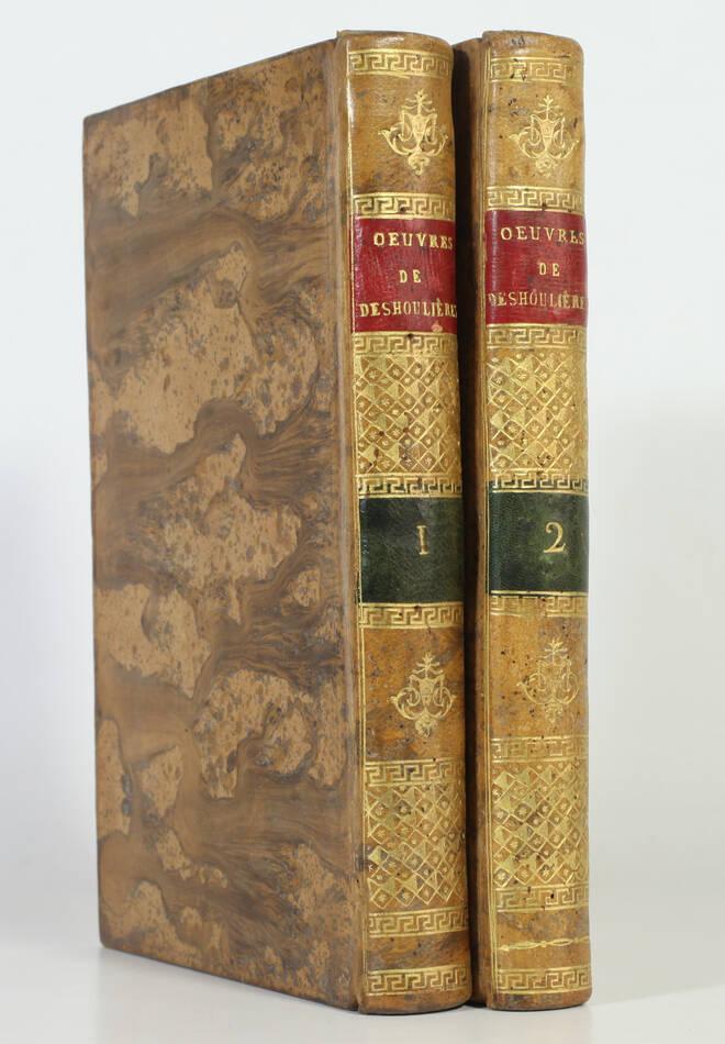 Madame DES HOULIERES - Oeuvres - 1799 - 2 volumes - Photo 0, livre ancien du XVIIIe siècle