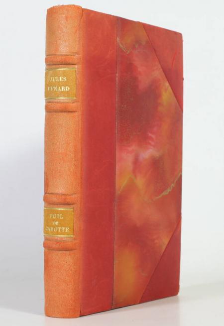 RENARD (Jules). Poil de carotte, livre rare du XXe siècle