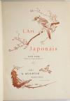 GONSE - L art japonais - 1883 - 2 volumes - Cartonnages de Engel - Photo 2, livre rare du XIXe siècle