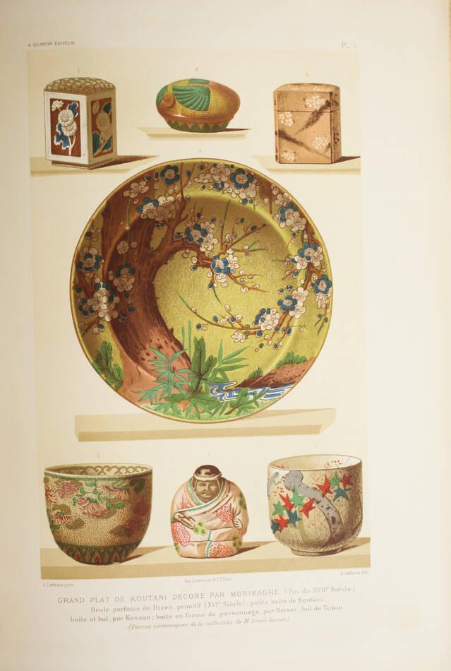 GONSE - L art japonais - 1883 - 2 volumes - Cartonnages de Engel - Photo 4, livre rare du XIXe siècle
