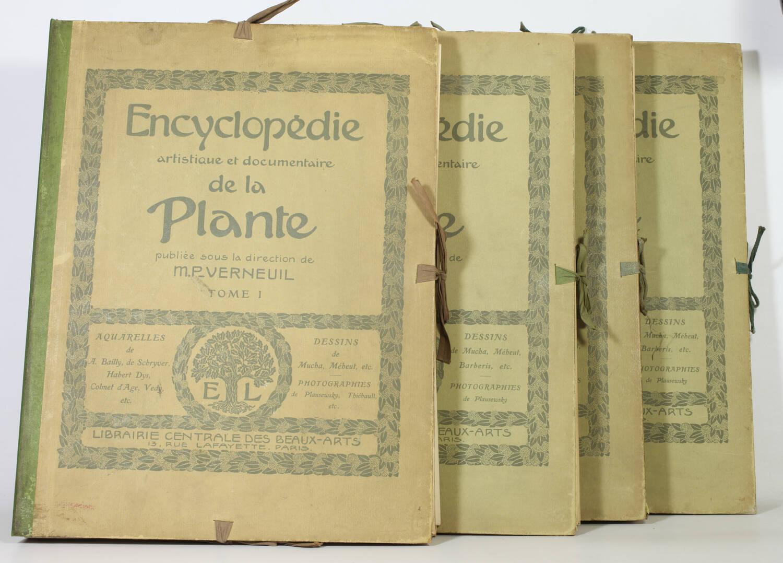 Encyclopédie artistique de la plante - 1904 - 384 planches - Mucha Meheut ... - Photo 0, livre rare du XXe siècle