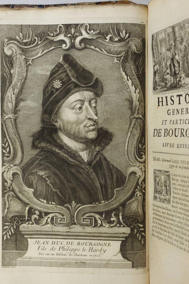 PLANCHER - Histoire générale et particulière de Bourgogne - 4 volumes - 1739-81 - Photo 15, livre ancien du XVIIIe siècle