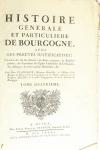 PLANCHER - Histoire générale et particulière de Bourgogne - 4 volumes - 1739-81 - Photo 16, livre ancien du XVIIIe siècle