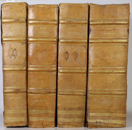 PLANCHER - Histoire générale et particulière de Bourgogne - 4 volumes - 1739-81 - Photo 0, livre ancien du XVIIIe siècle