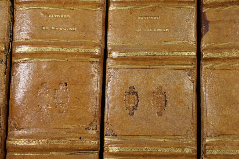 PLANCHER - Histoire générale et particulière de Bourgogne - 4 volumes - 1739-81 - Photo 2, livre ancien du XVIIIe siècle