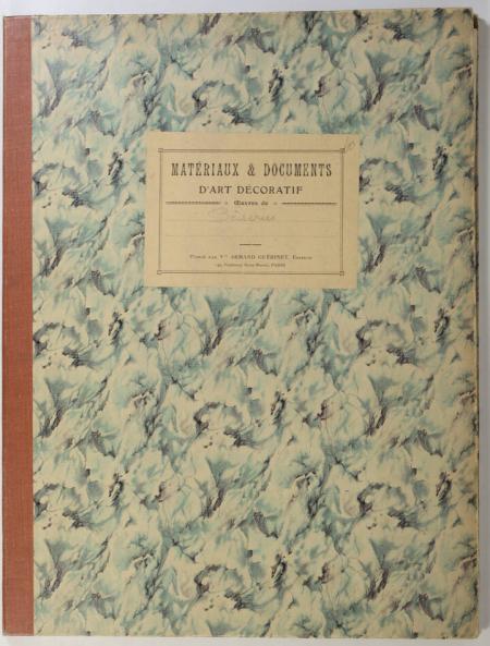 . Boiseries, interieurs d'appartements. Epoques Louis XV et Louis XVI. Cornille, Blondel, Lequeu, Desprez, etc., livre rare du XXe siècle