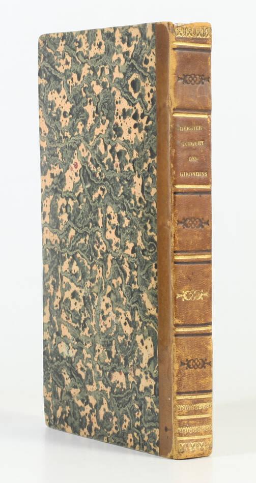 NODIER - Le dernier banquet des Girondins - EO - Renduel VII - 1833 - Photo 0, livre rare du XIXe siècle