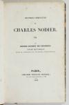 NODIER - Le dernier banquet des Girondins - EO - Renduel VII - 1833 - Photo 1, livre rare du XIXe siècle