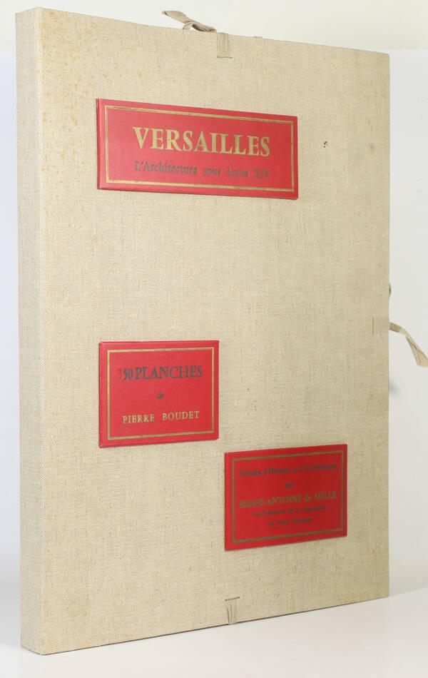 Versailles, architecture sous Louis XIV - Notules d Histoire 1971 - 50 Planches - Photo 0, livre rare du XXe siècle