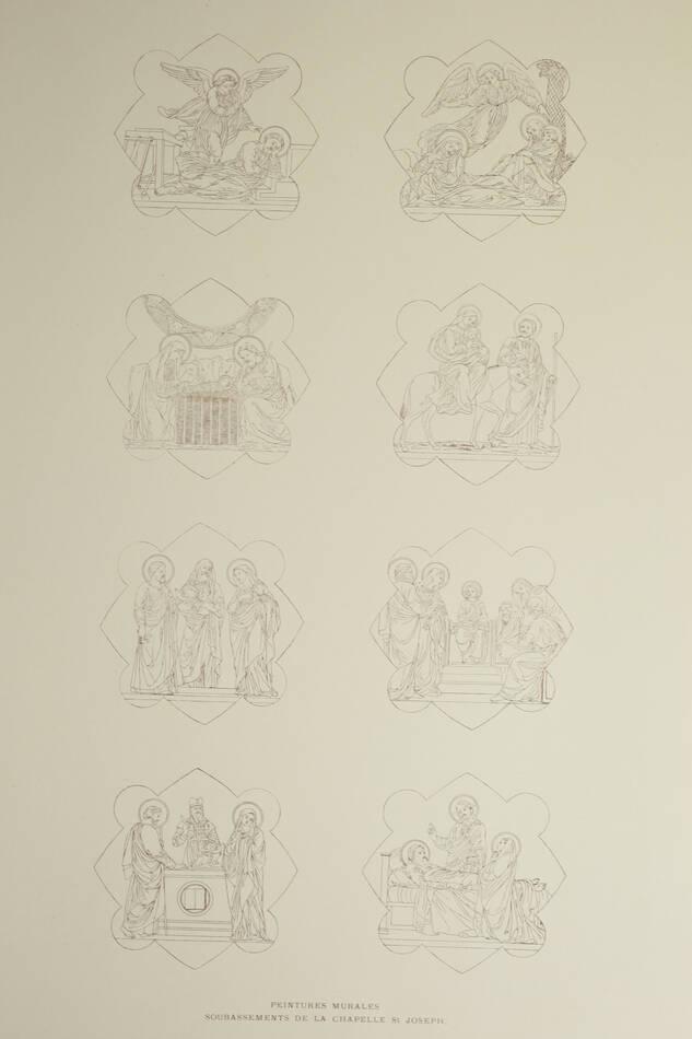 Monographie de la basilique St Epure à Nancy - 1890 - 72 planches - Photo 6, livre rare du XIXe siècle