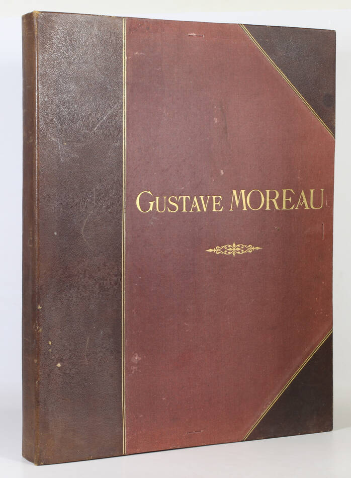 L oeuvre de Gustave Moreau - Bulloz - (1911 ou 1913) - 60 planches - Rare - Photo 1, livre rare du XXe siècle