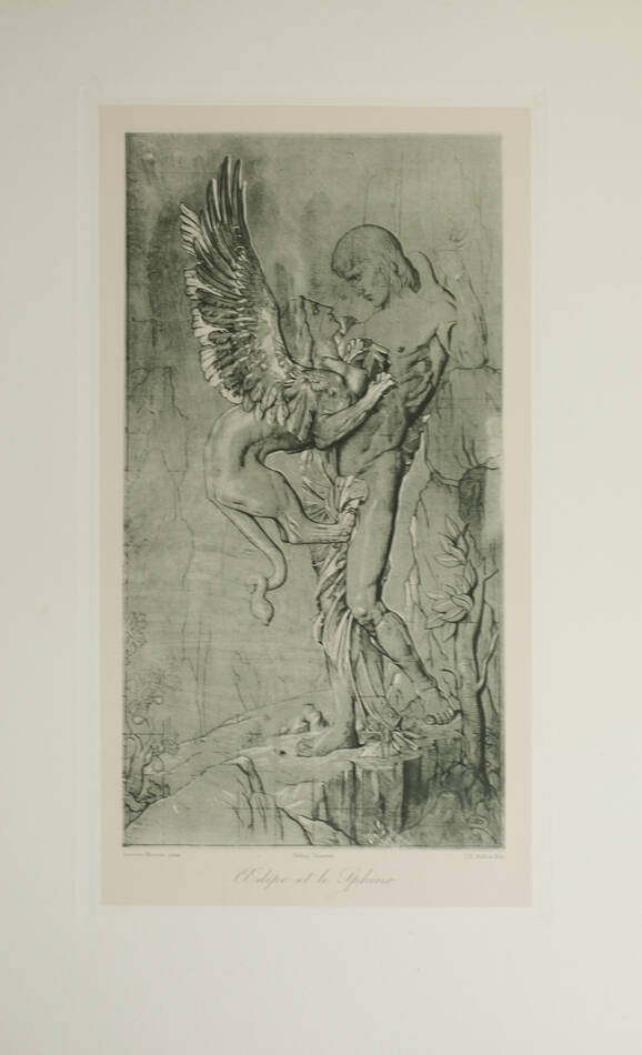 L oeuvre de Gustave Moreau - Bulloz - (1911 ou 1913) - 60 planches - Rare - Photo 4, livre rare du XXe siècle