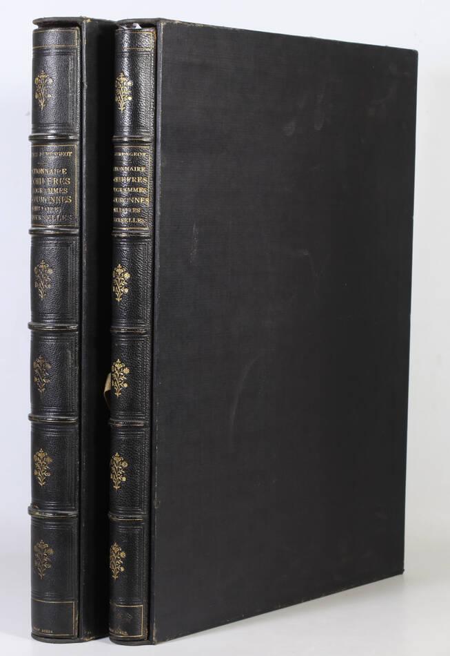 DEMENGEOT - Dictionnaire du chiffre-monogramme - 1881 - 2 volumes - Planches - Photo 0, livre rare du XIXe siècle