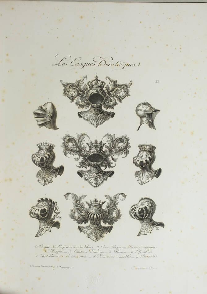 DEMENGEOT - Dictionnaire du chiffre-monogramme - 1881 - 2 volumes - Planches - Photo 3, livre rare du XIXe siècle