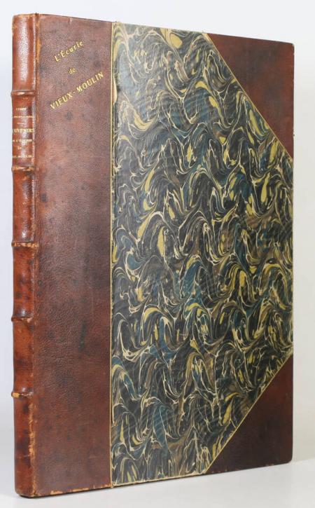 PILLET-WILL (Comte Maurice). Souvenirs de l'écurie de Vieux-Moulin, livre rare du XXe siècle