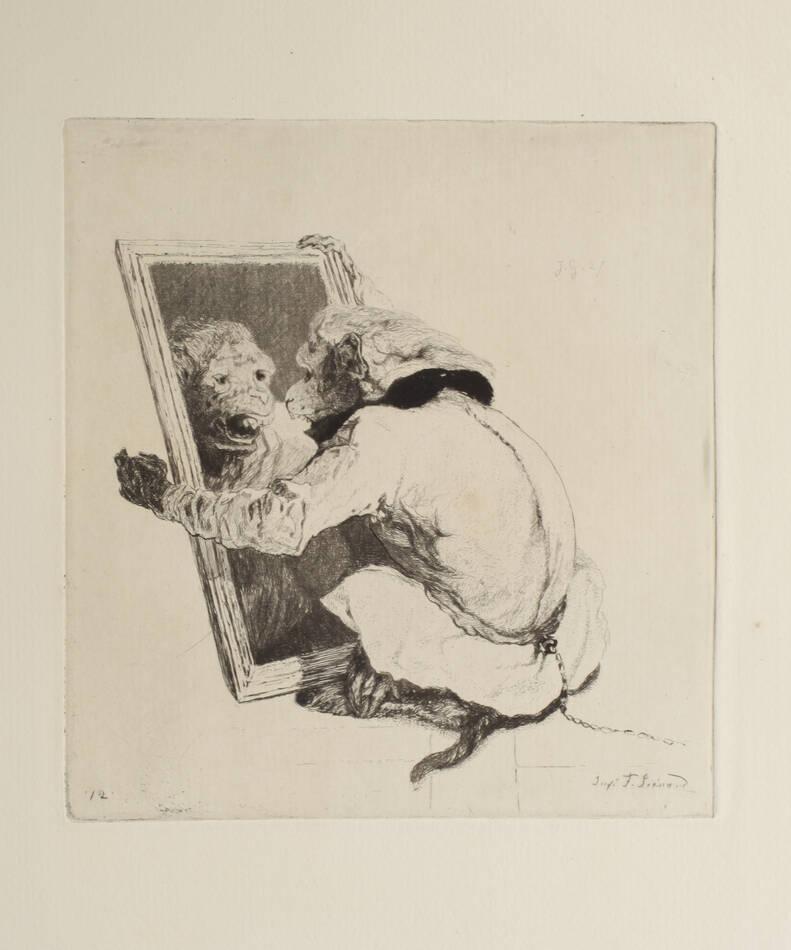 Eaux-fortes de Jules de Goncourt - Burty - 1876 - 20 planches à l eau-forte - Photo 0, livre rare du XIXe siècle