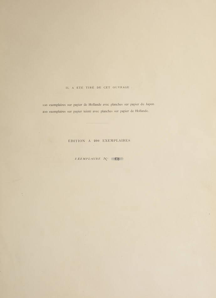 Eaux-fortes de Jules de Goncourt - Burty - 1876 - 20 planches à l eau-forte - Photo 5, livre rare du XIXe siècle