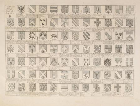 CHEVILLARD (Jacques). Armorial de Bourgogne et de Bresse, dédié à S. A. S. Mgr. le duc de Bourbon, livre ancien du XVIIIe siècle