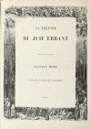 Légende du juif errant illustré par Gustave Doré 1856 - Grd in-folio, 1er tirage - Photo 1, livre rare du XIXe siècle
