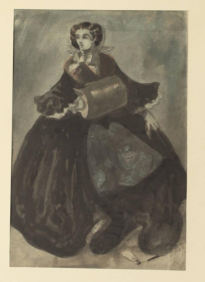 Constantin GUYS - Légendes parisiennes 1920 - In-folio - 14 planches - 1/100 ex - Photo 0, livre rare du XXe siècle