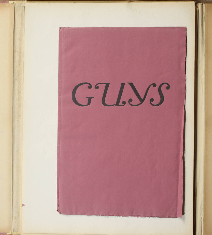 Constantin GUYS - Légendes parisiennes 1920 - In-folio - 14 planches - 1/100 ex - Photo 4, livre rare du XXe siècle