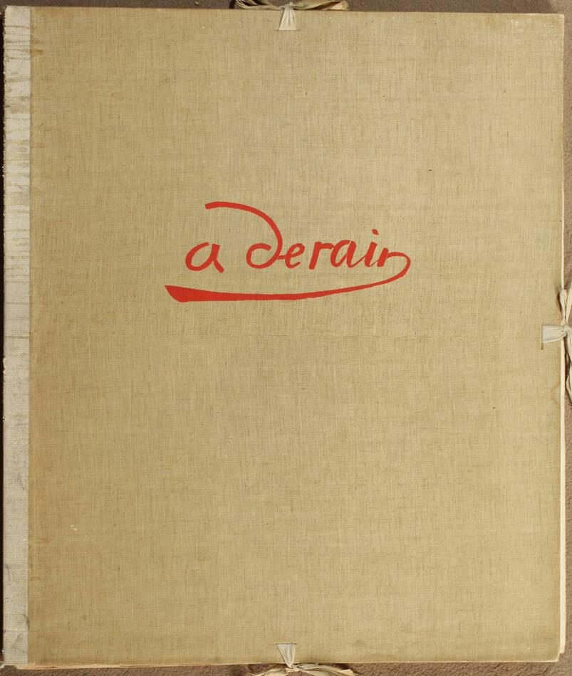 André Derain 1880-1954, par Dunoyer de Segonzac - 1961 - 10 planches - Photo 1, livre rare du XXe siècle