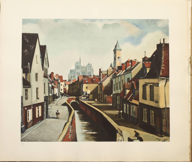 André Derain 1880-1954, par Dunoyer de Segonzac - 1961 - 10 planches - Photo 3, livre rare du XXe siècle