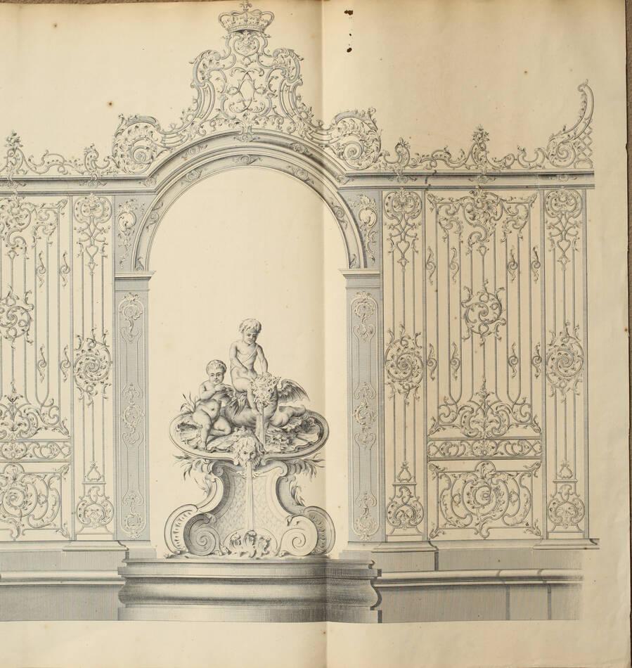 LAMOUR - Recueil des ouvrages en serrurerie de la place Royale à Nancy - XIXe - Photo 0, livre rare du XIXe siècle