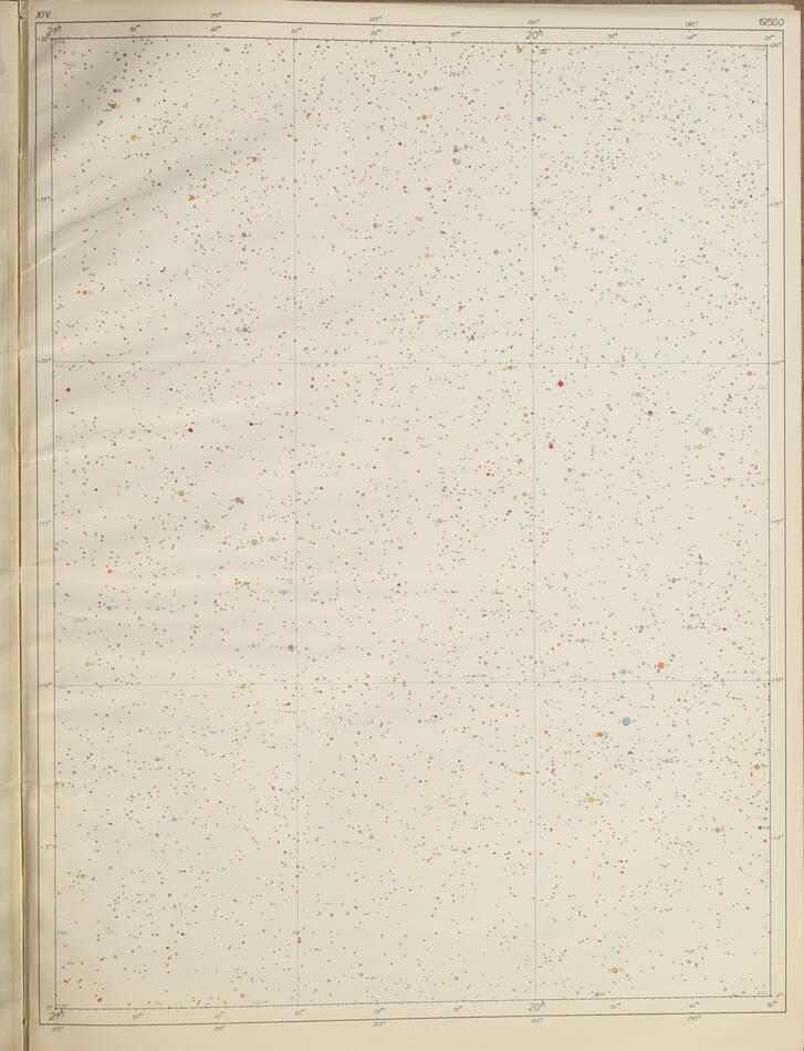 [Astronomie Etoiles] BECVAR - Atlas Eclipticalis 1950.0 - 1958 - Grand in-folio - Photo 2, livre rare du XXe siècle
