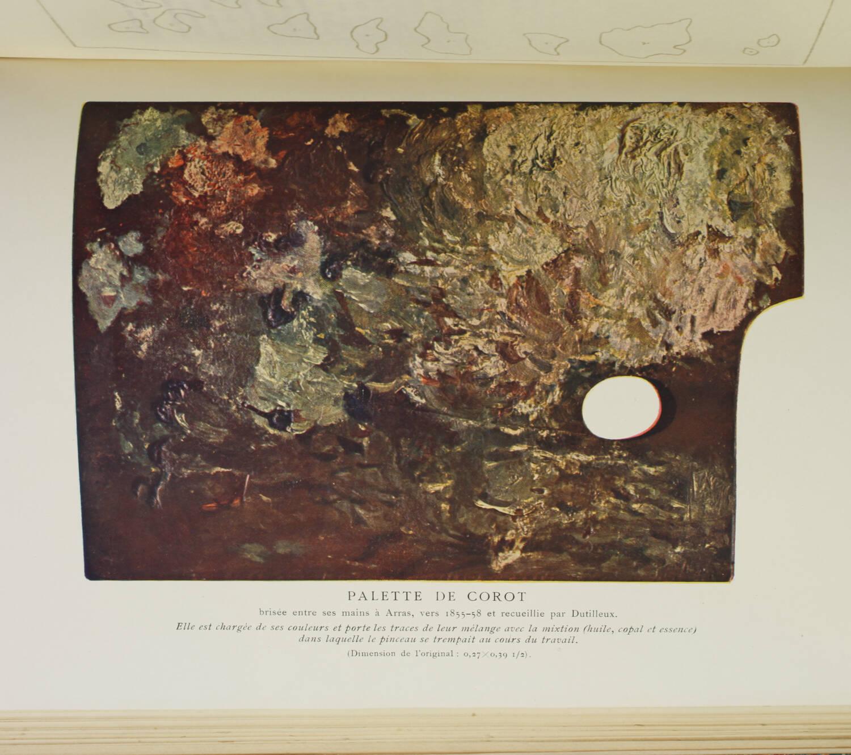 MOREAU-NELATON - Histoire de Corot - 1905 - Reliure de Durvand - Photo 0, livre rare du XXe siècle