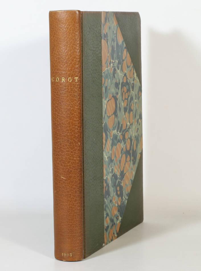 MOREAU-NELATON - Histoire de Corot - 1905 - Reliure de Durvand - Photo 1, livre rare du XXe siècle
