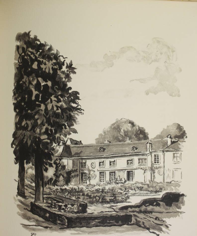 Vieux hôtels de Versailles 1953 - Lithos de R. Aubert - Signé par La Varende etc - Photo 3, livre rare du XXe siècle