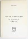ARJUZON (Jacques d'). Histoire et généalogie de la famille d'Arjuzon