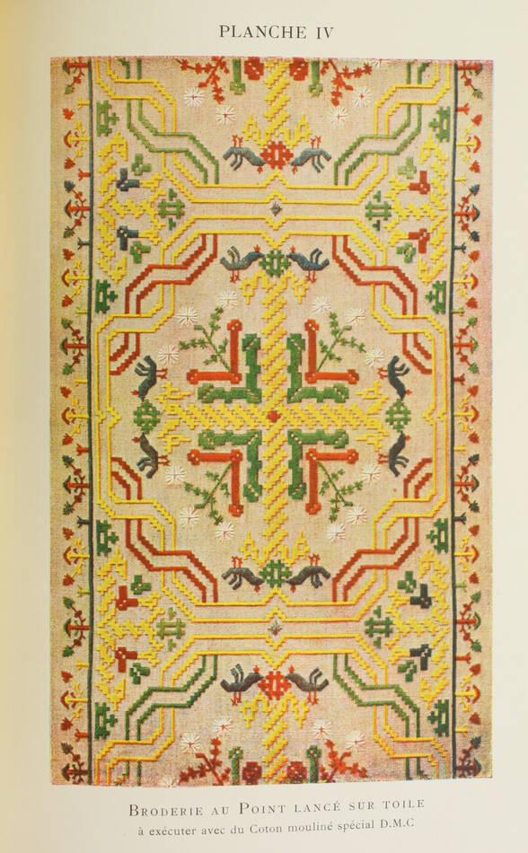 DILLMONT - Encyclopédie des ouvrages de dames - In-8 - 17 Planches couleurs - Photo 0, livre rare du XXe siècle
