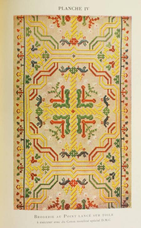 DILLMONT (Thérèse). Encyclopédie des ouvrages de dames, livre rare du XXe siècle