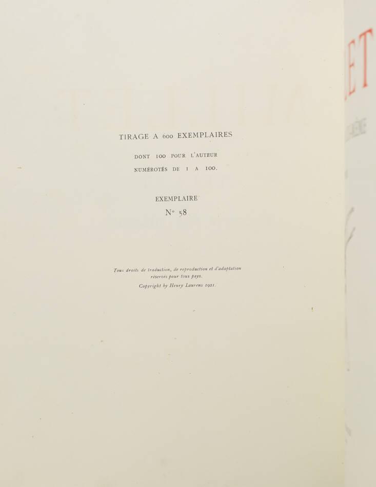 MOREAU-NELATON - Millet raconté par lui-même - 1924 - 3 volumes - Envoi - Photo 2, livre rare du XXe siècle